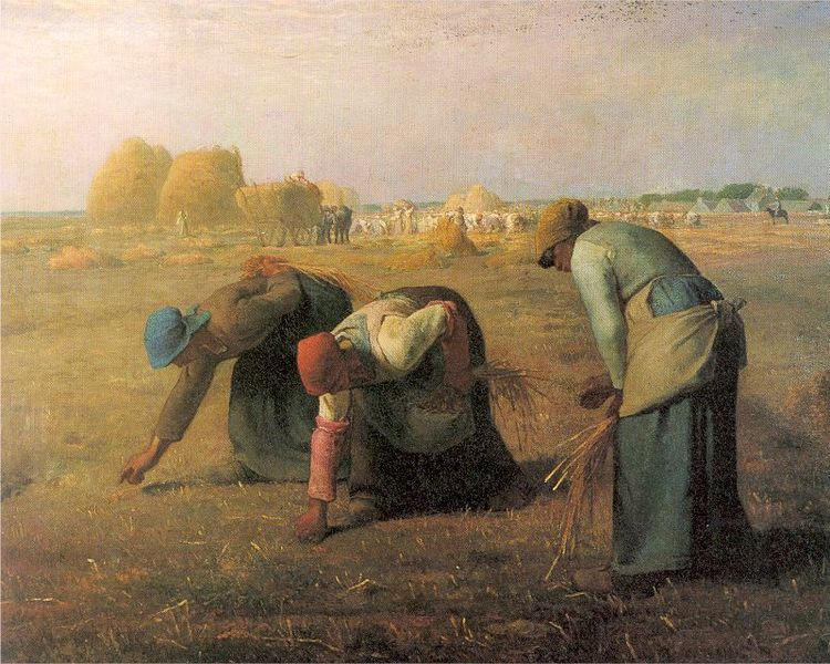 Jean Francois Millet Gleaners