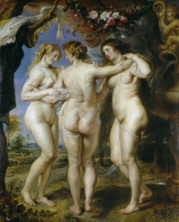 Peter Paul Rubens - de Drie Gratieen