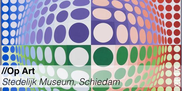 Tentoonstelling - Op Art - Stedelijk Museum Schiedam