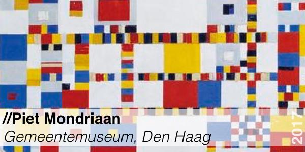 Tentoonstelling - Gemeentemuseum - Piet Mondriaan