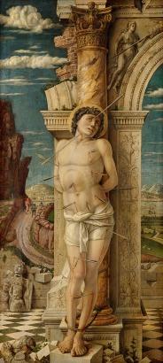 Andreas Mantegna - Sint Sebastiaan