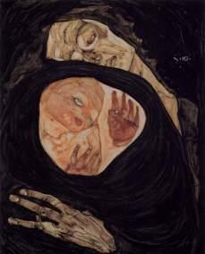 Egon Schiele - Dode Moeder I