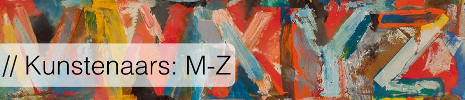Kunstenaars: A-Z