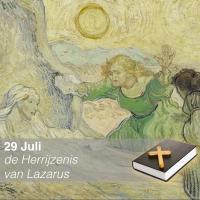Herrijzenis van Lazarus - Vincent van Gogh