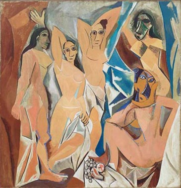Pablo Picasso - Les Demoiselles d'Avignon - Pablo Picasso