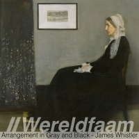 James McNeill Whistler - Whistler's Mother - Realisme