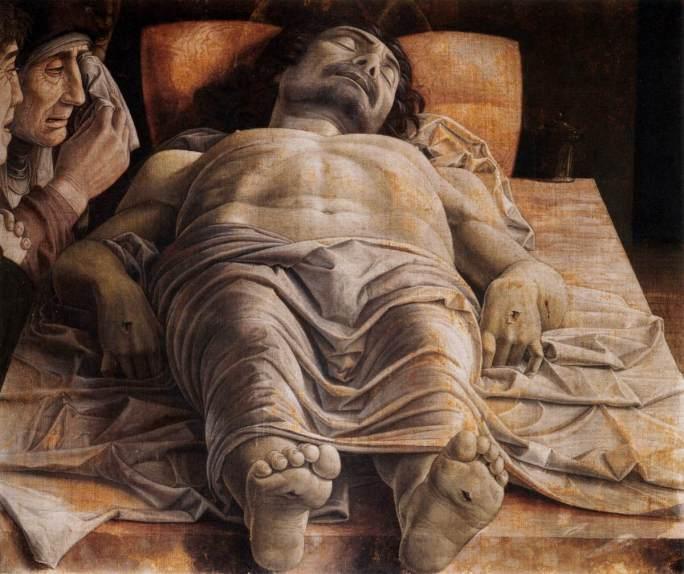 Andrea Mantegna - Bewening van Christus