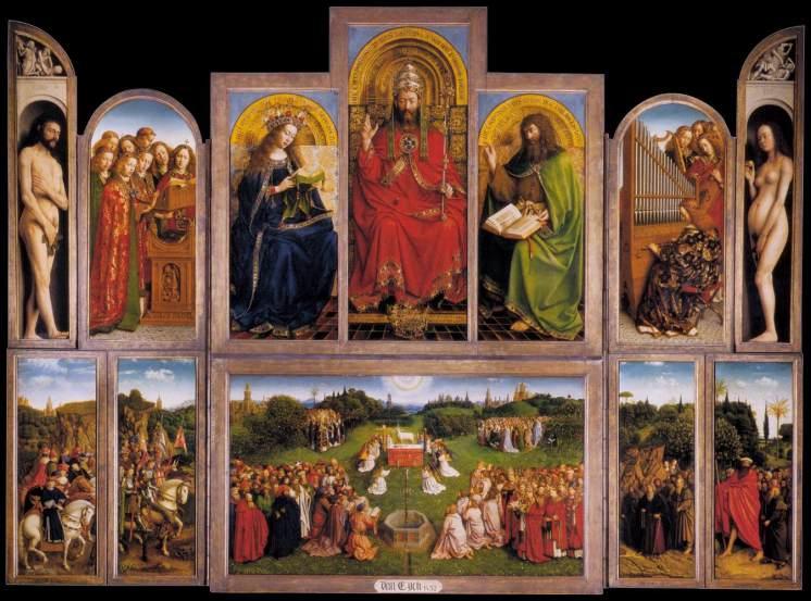 Jan van Eyck - Lam Gods