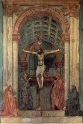 Masaccio - de Helige Drie Eenheid