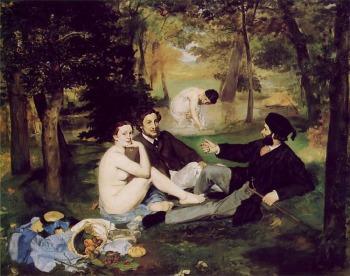 Edouard Manet - Le Dejeuner sur l'herbe