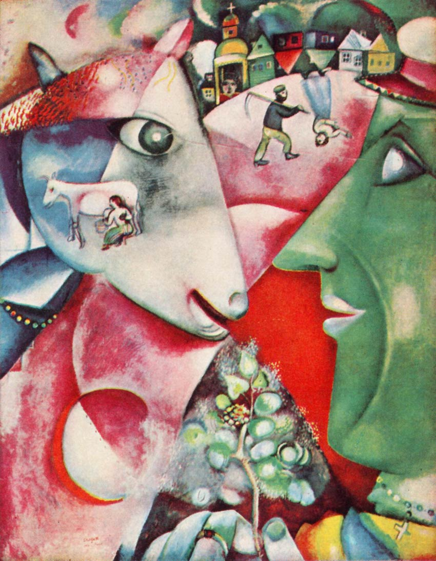 Canon van de moderne kunst chagall vensters for Chagall tableau
