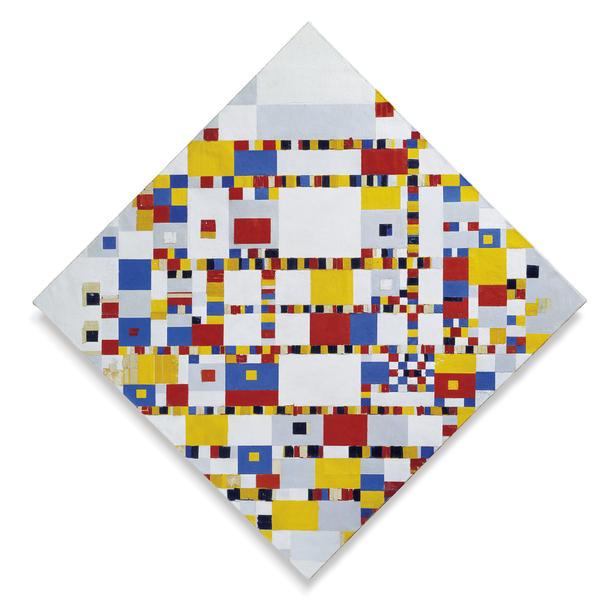 canon van de moderne kunst: mondriaan – //vensters