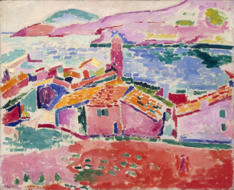 Henri Matisse - Les Toits de Collioure