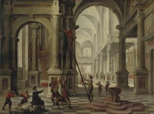 Hendrick van Steenwijck - de Beeldenstorm