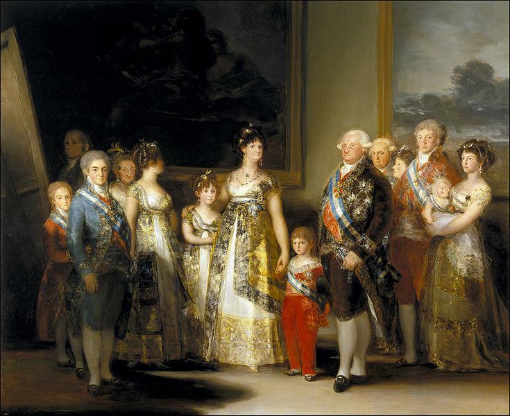 Francisco de Goya - Charles IV and his Family