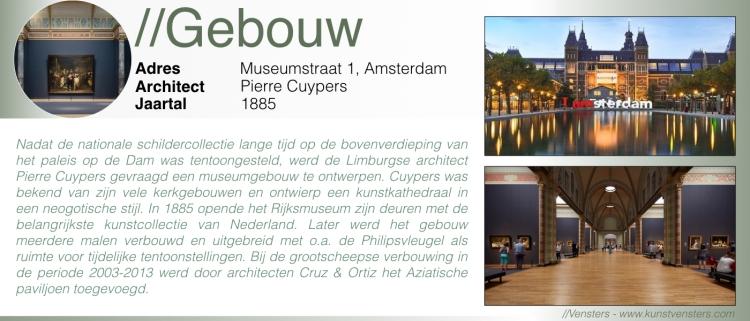 Rijksmuseum - Gebouw