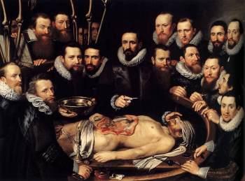 de Anatomische Les van Willem van der Meer - Michiel van Mierevelt