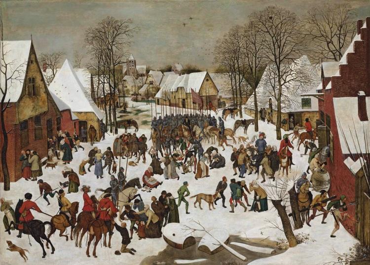 de Kindermoord van Bethlehem - Pieter Brueghel (II)