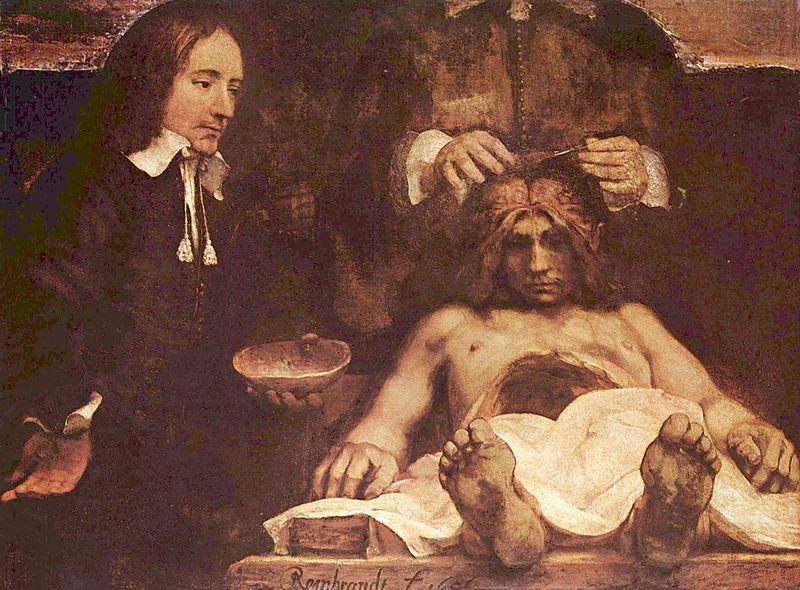 De Anatomische Les van Dr. Deijman - Rembrandt van Rijn