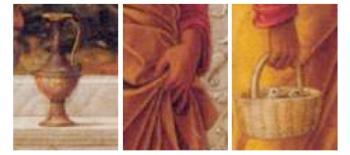 de Besnijdenis van Jezus - Andrea Mantegna (detail)