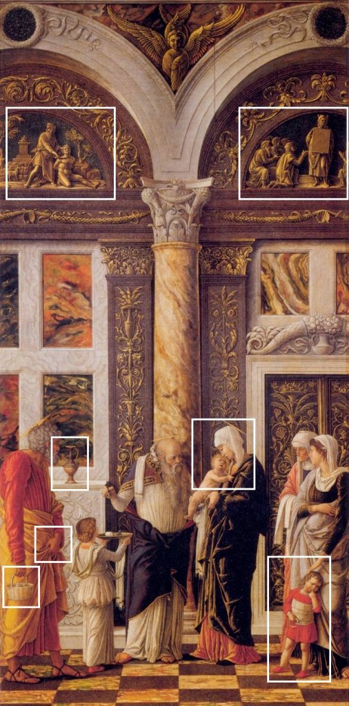de Besnijdenis van Jezus - Andrea Mantegna