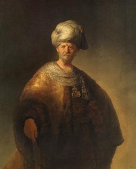 Rembrandt - Man in Oosterse Kledij