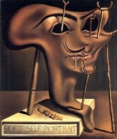 Salvador Dali - Soft Self Portrait