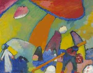 Wassily Kandinsky - Strandscene