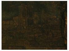 de Visitatie - Rembrandt van Rijn (detail)