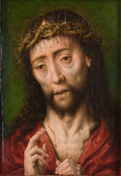 Albrecht Bouts - Christus met de Doornenkroon