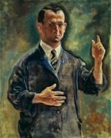 Georg Grosz - Zelfportret