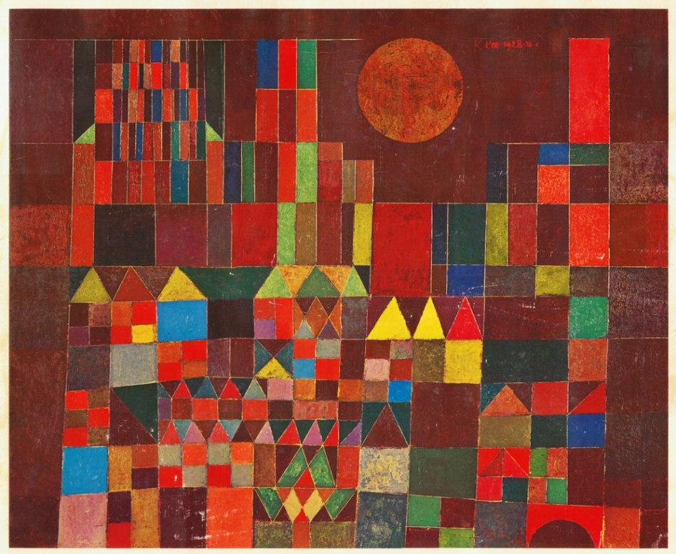 Paul Klee - Kasteel en Zon