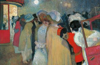 Piet van der Hem - Moulin Rouge