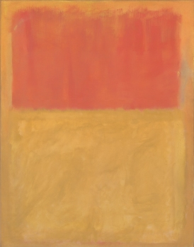 Mark Rothko - Orange and Tan