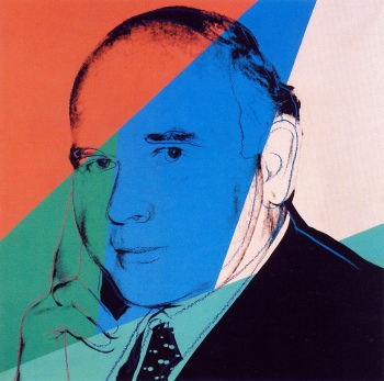 Andy Warhol - Portret Peter Ludwig