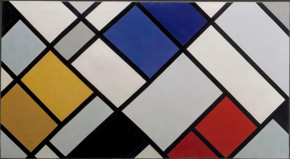 Contra-compositie van dissonanties - Theo van Doesburg