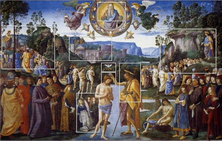 De Doop van Christus - Perugino