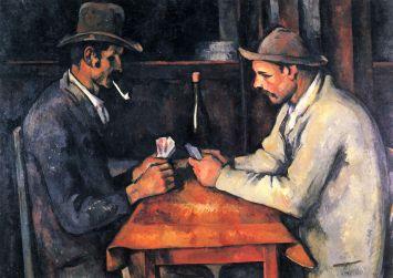 Paul Cézanne - de Kaartspelers