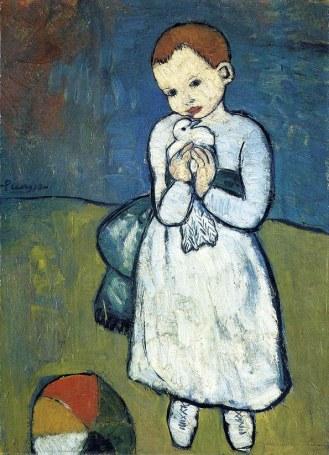 Pablo Picasso - Kind met een Duif