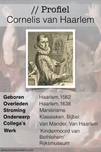 Profiel van Cornelis van Haarlem