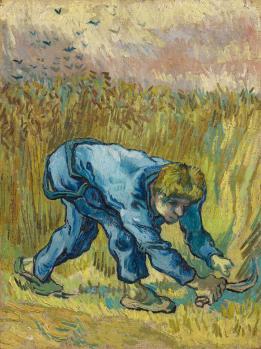 De Maaier (naar Millet) - Vincent van Gogh