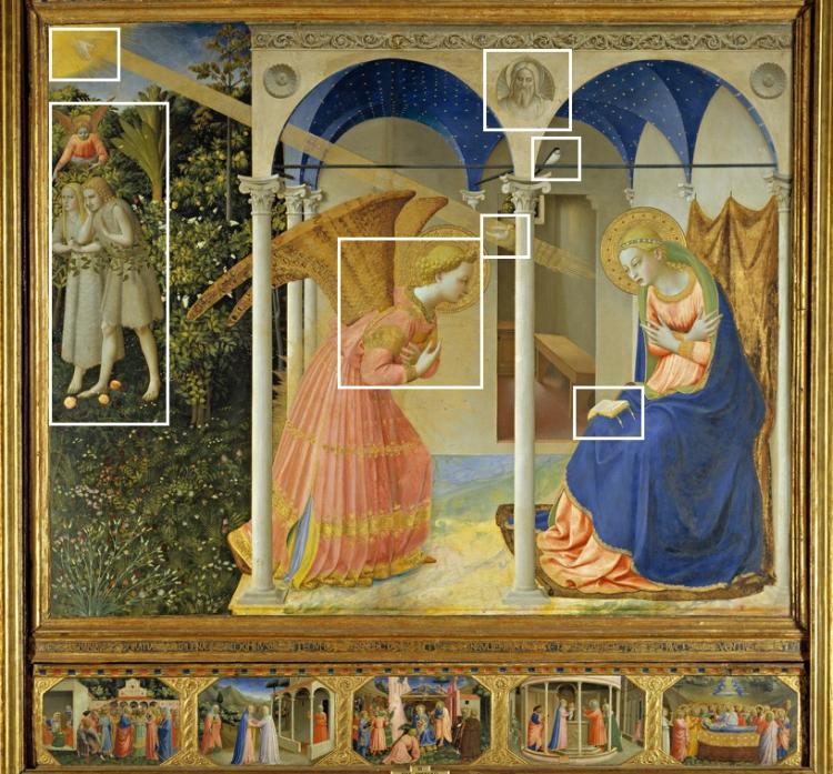 Fra Angelico - de Annunciatie