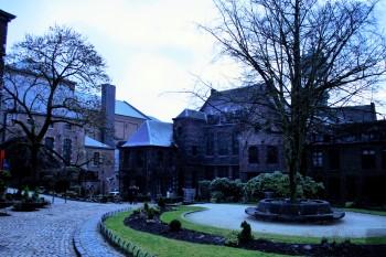 Binnenplaats van Stadhuis