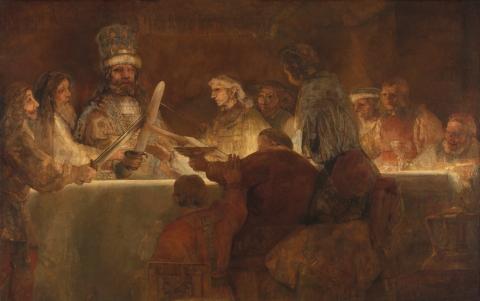 Rembrandt van Rijn - Samenzwering van Claudius Civilius