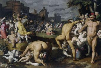 Cornelis van Haarlem - Kindermoord van Bethlehem