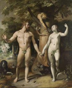 Adam en Eva - Cornelis van Haarlem
