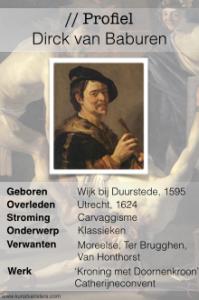 Profiel Dirck van Baburen