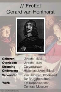 Profiel Gerard van Honthorst