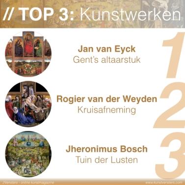 de Vlaamse Primitieven - Top 3 Kunstwerken