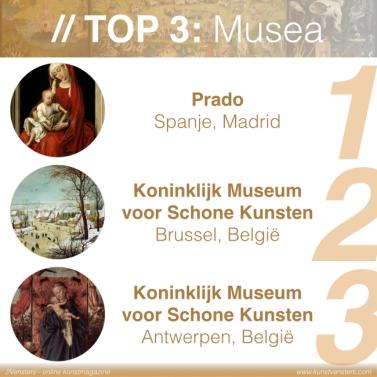 de Vlaamse Primitieven - Top 3 Musea